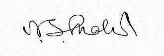 Nathaniel Shaler - Image: Signature of Nathaniel Southgate Shaler