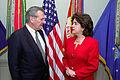 Sila Calderon with Donald Rumsfeld.JPEG