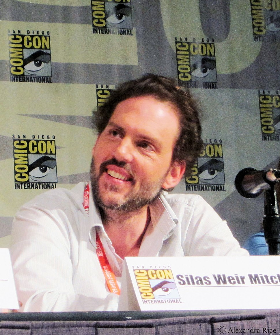 Silas Weir Mitchell at Comic-Con 2012