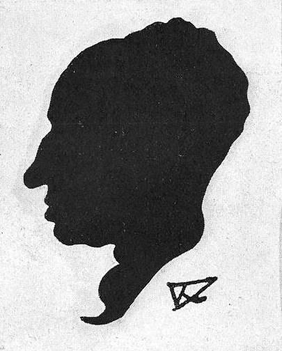 Silueta de Ramiro Díaz Baliño 1934