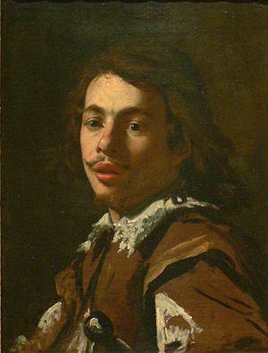 Aubin Vouet - Image: Simon Vouet presumed portrait of Aubin Vouet without frame