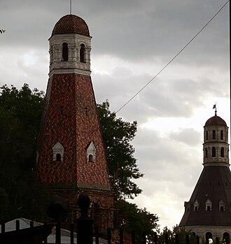 Simonov Monastery - Image: Simonov towers