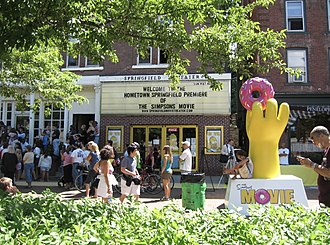 Springfield, Vermont - The Springfield Theater premiere of The Simpsons Movie, 2007