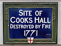 Site of Cooks Hall Destroyed by fire 1771.jpg