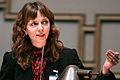 Siv Fridleifsdottir talar vid Nordiska Radets session i Helsingfors 2008-10-28.jpg