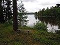 Sjön Åmänningen vid Dunshammar Ängelsberg.JPG