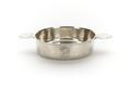 Skål av silver med raka sidor, flat botten med kupat mittparti och profilerade handtag - Skoklosters slott - 91967.tif