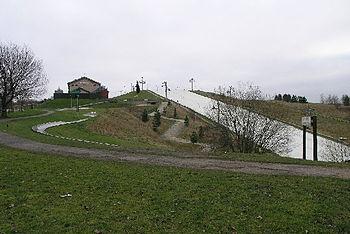 Dry Ski Slope in Swadlincote Derbyshire