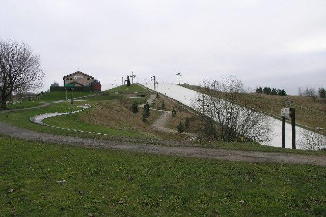 Ski Slope in swadlicote