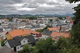Skien Municipality in Vestfold og Telemark, Norway