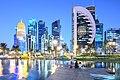 Skyline of Doha West Bay.jpg