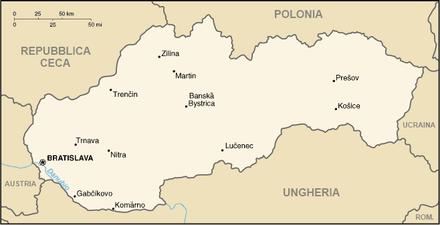 Cartina Del Austria.Confine Tra L Austria E La Slovacchia Wikiwand