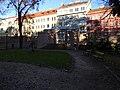 Smíchov, Malostranský hřbitov, hlavní brána, zevnitř.jpg