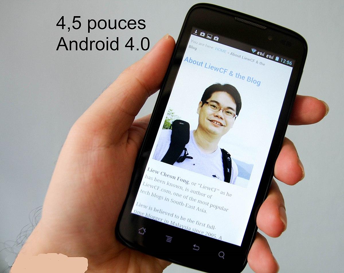 téléphone portable reconnaissance faciale