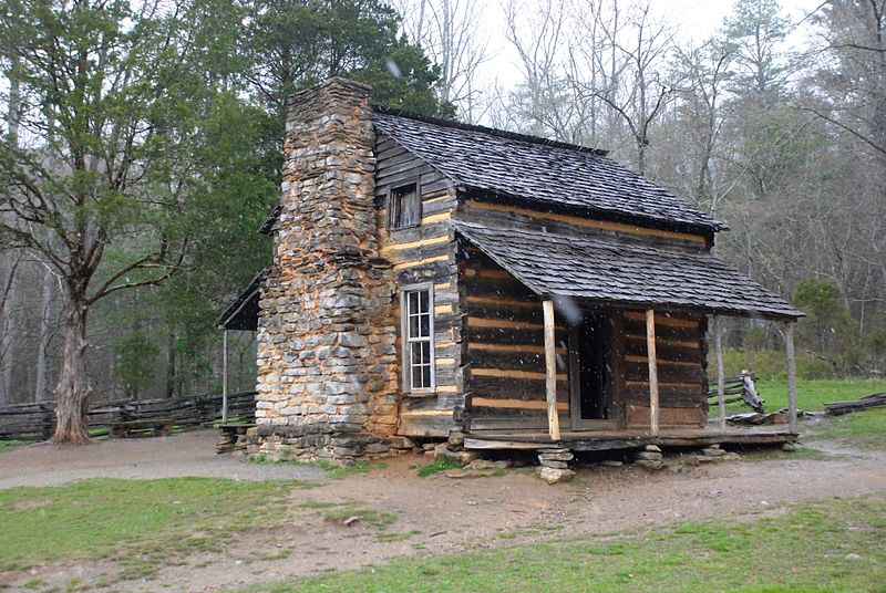 file smoky mountains john oliver cabin wikimedia