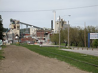 La Tuque, Quebec - The paper mill in La Tuque.