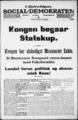 Social-Demokraten - 1920-03-29 - Side 1.png