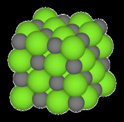 Instrukcije iz kemije - Ionska veza, Kristalna rešetka NaCl