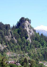 Hügel von Crap Sogn Parcazi, Richtung Osten