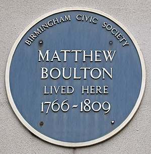 Soho House - The Blue Plaque