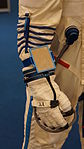 Sokol-KV-2 space suit(K.WAKATA) arm at Kobe International Conference Center 20150704.JPG