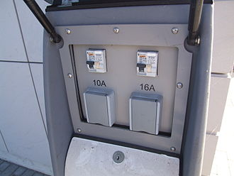 Museum Autovision -  Solar gas with 10 and 16-ampere-port