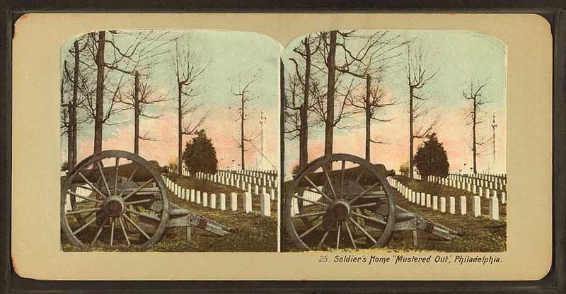 "File:Soldier's home ""mustered out,"" Philadelphia, from Robert N. Dennis collection of stereoscopic views.jpg"
