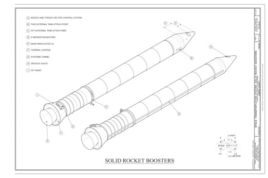 space shuttle solid rocket booster