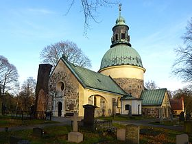 Solna Church close to Stockholm, Sweden
