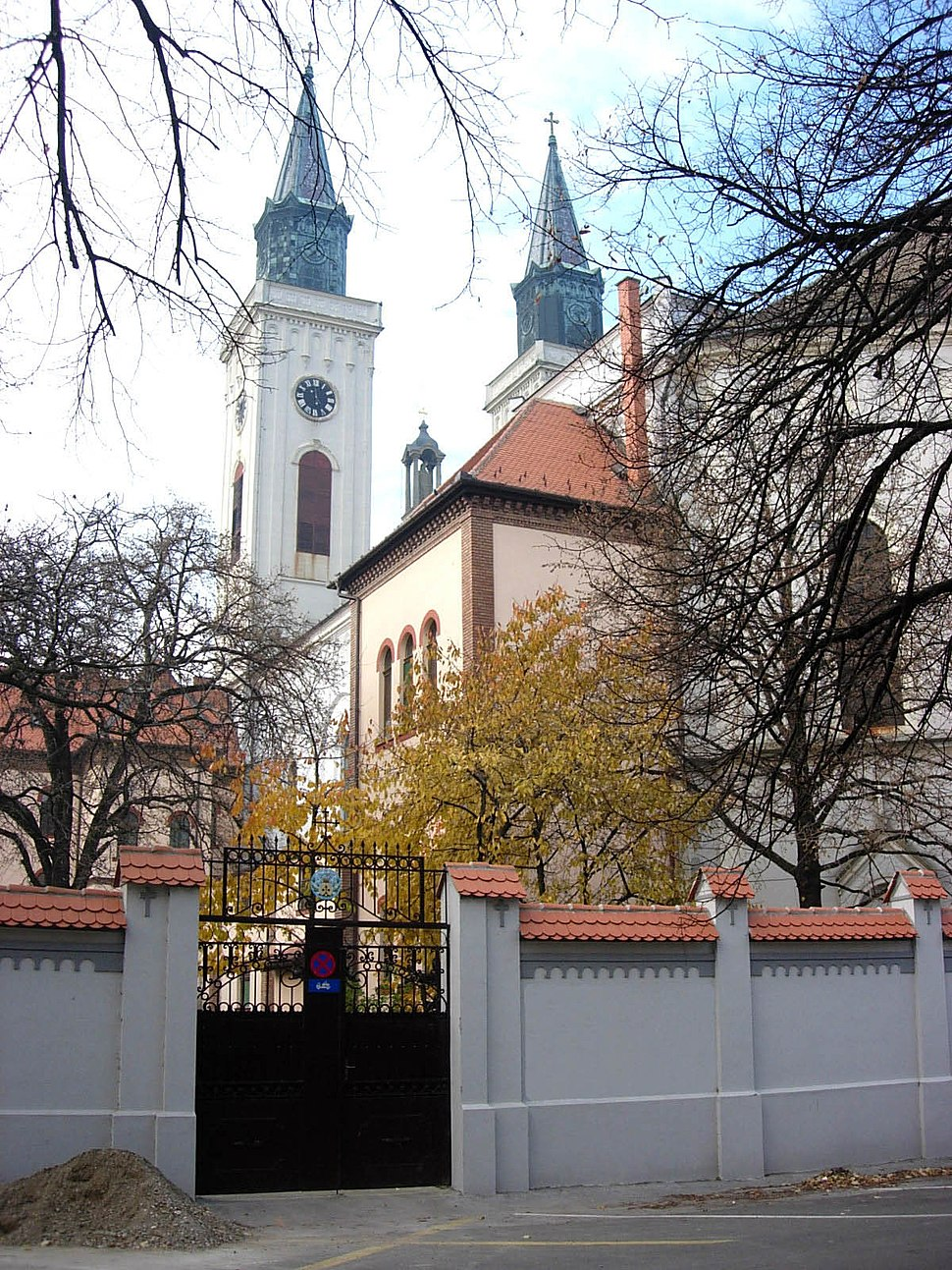 Sombor, Carmelite monastery and church
