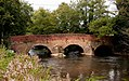 Somerset Bridge from the Southeast with the river Wey at Summer level DSC 1565.jpg