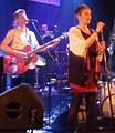 Sondre Meisfjord and Live Maria Roggen in Bergen, Norway, with Come Shine and TJO at Nattjazz 2016.jpg