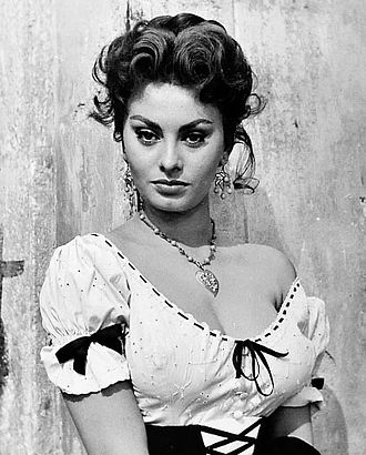 Sophia Loren - Loren in The Miller's Beautiful Wife, 1954