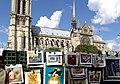 South facade of Notre-Dame de Paris, 22 November 2009.jpg