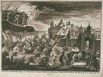 Spanish conquest of Oran (1732) - Spanish attack on Oran of 1732.