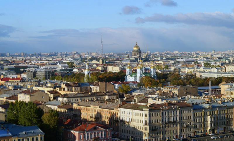 File:Spb aerial view from Embankment of the river Fontanka.png