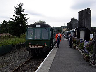 Keith and Dufftown Railway - Image: Spirit of Speyside, Keith and Dufftown Railway