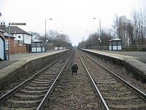 Spondon railway station - Image: Spondon Railway Station