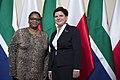 Spotkanie premier Beaty Szydło z Thandi Modise.jpg