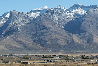 Spring Creek, Nevada - Spring Creek lies at the base of the Ruby Mountains