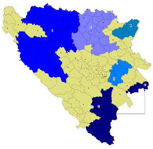 Serb Autonomous Regions - Image: Srpske autonomne oblasti u Bosni i Hercegovini