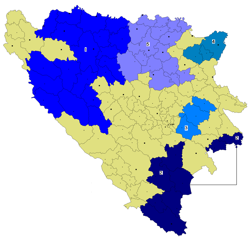 Srpske autonomne oblasti u Bosni i Hercegovini