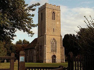 Melton, Suffolk - Image: St. Andrew's; the original parish church of Melton geograph.org.uk 586163