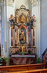 St. Georg - Mundelfingen - Right side altar 01.jpg