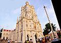 St. Joseph's Cathedral, Trivandrum panorama.jpg