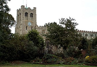 Coggeshall - Image: St. Peter ad Vincula church, Coggeshall, Essex geograph.org.uk 136614