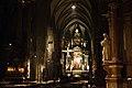 St. Stephen's Cathedral interior, Stephansplatz. Vienna, Austria, Western Europe.jpg