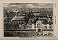 St Bartholomew's Hospital, London; bird's-eye view of the co Wellcome V0013003.jpg