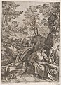 St Jerome Translating the Bible in the Wilderness MET DP874339.jpg