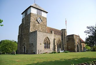 St Michael and All Angels Church, Marden - Image: St Michael and All Angels church, Marden 2